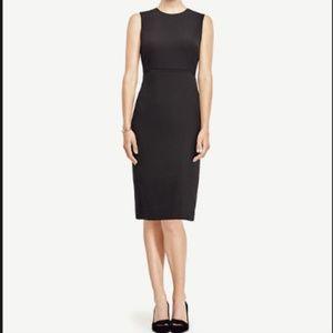 NWT Ann Taylor Seasonless Black Sheath Dress